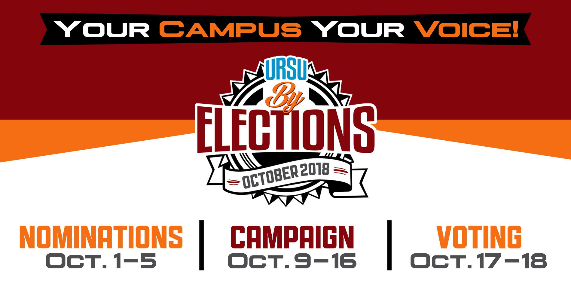 URSU By-Elections Announced for Oct. 17 and 18