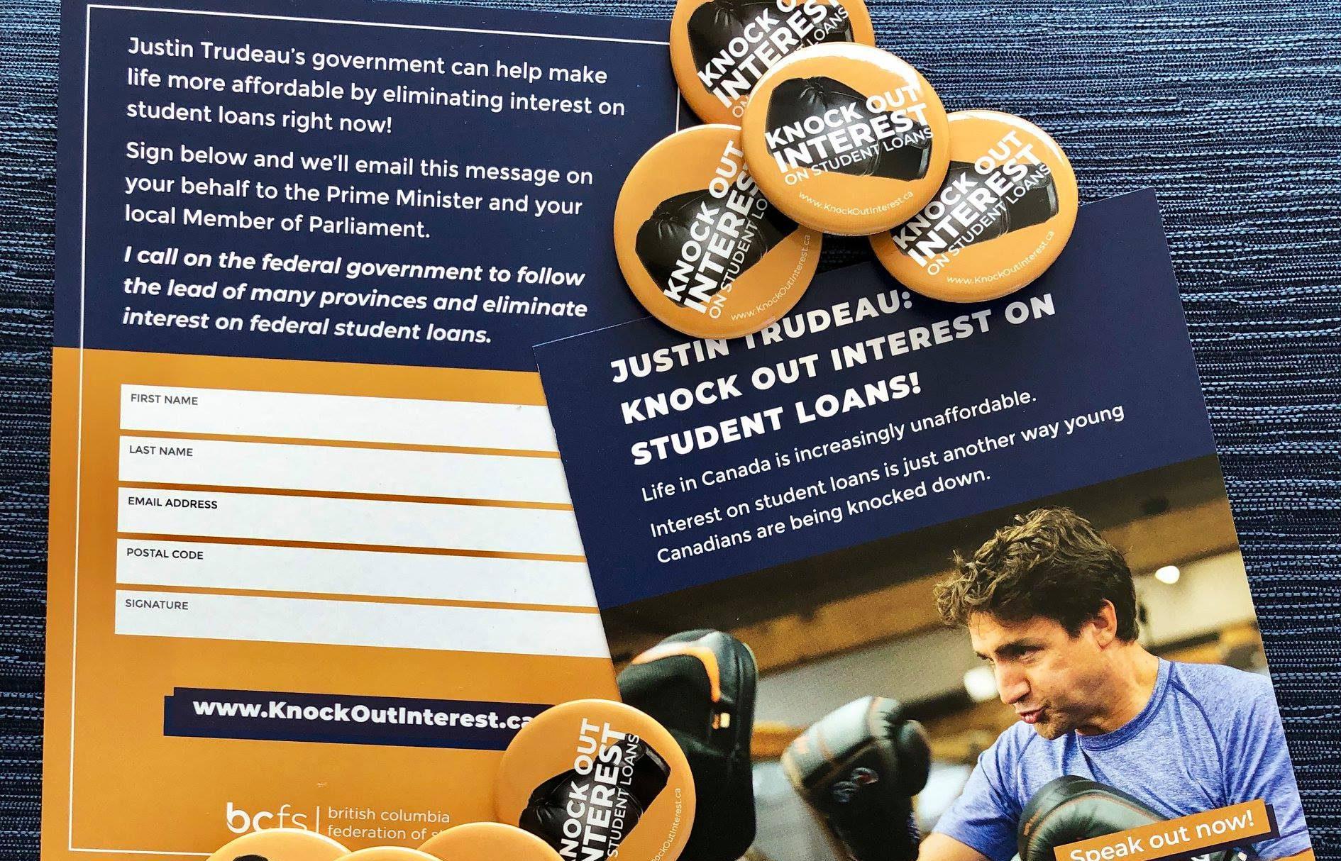 URSU Endorses Knock Out Interest Campaign