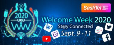 URSU Welcome Week 2020 presented by SaskTel