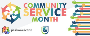 Community Service Month Begins Today
