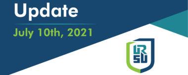 URSU PRESIDENT'S UPDATE –  JULY 10, 2021