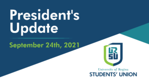 URSU President's Update - September 27, 2021